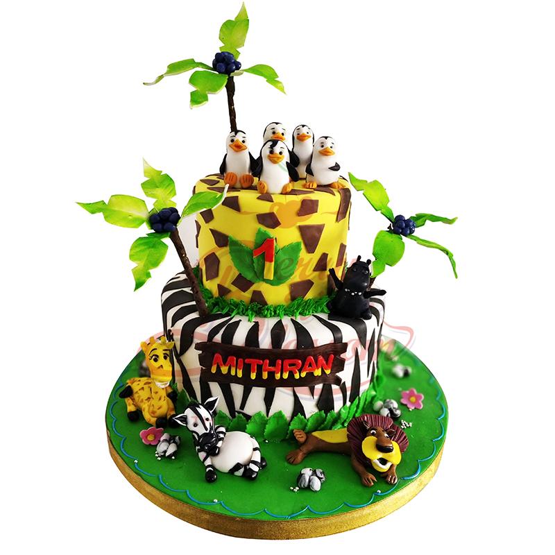 Miraculous Bnb B084 Madagascar 2 Step Berry N Blossom Funny Birthday Cards Online Alyptdamsfinfo