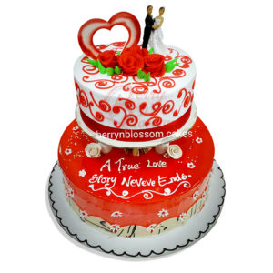 wedding anniversary cakes in chennai